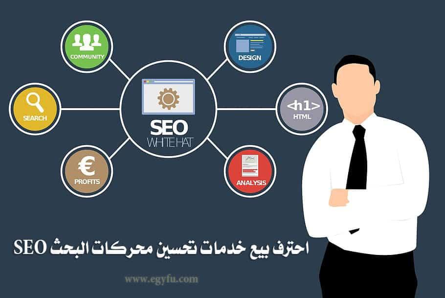 احترف بيع خدمات تحسين محركات البحث SEO