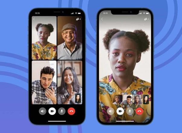 Signal التطبيق الأمني اصبح يدعم مكالمات الفيديو الجماعية المشفرة