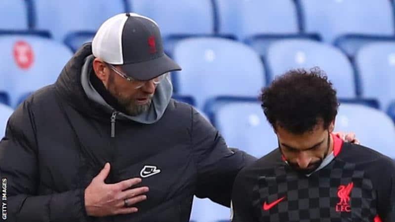يورجن كلوب مدرب ليفربول يقلل من المخاوف بشأن محمد صلاح