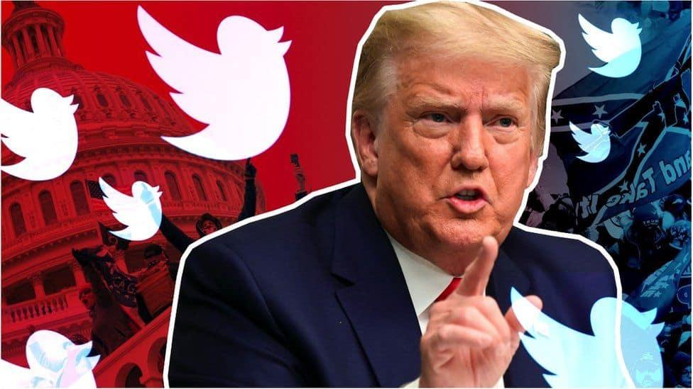 نهاية درامية لترامب فى عام 2021 على تويتر