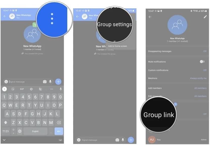 | كيفية نقل محادثاتك الجماعية من WhatsApp إلى Signal
