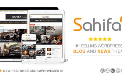 تحميل قالب صحيفة Sahifa الإصدار الخامس   الأفضل والأكثر مبيعاً علي الإطلاق